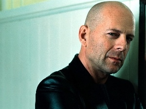 portrait, Bruce Willis, actor