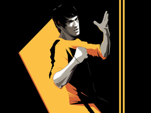 Bruce Lee, graphics