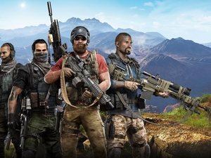 soldiers, game, Tom Clancys Ghost Recon : Wildlands
