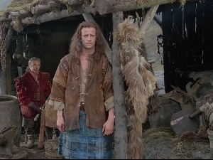 hut, Christopher Lambert, Connor MacLeod