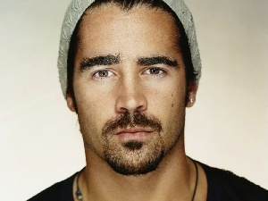 Hat, Colin Farrell, face