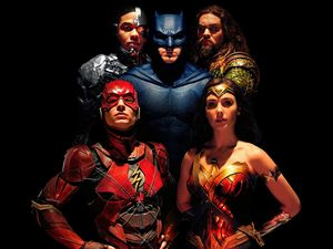 Justice League, Ray Fisher - Cyborg, Gal Gadot - Wonder Woman, Ben Affleck - Batman, Ezra Miller - Flash, Justice League, movie, Jason Momoa - Aquaman