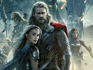 Thor, Natalie Portman, Chris Hemsworth, The Dark World