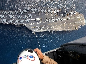 soldier, aircraft carrier, Planes