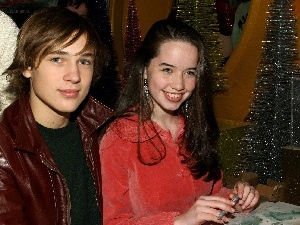 Actors, Anna Popplewell, William Moseley
